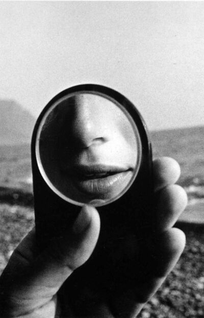 Ralph Gibson, ' M.J. in Little Mirror (37A)', 1980