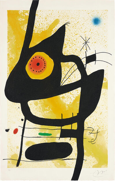 Joan Miró, 'La Femme des sables (Woman in the Sand)', 1969