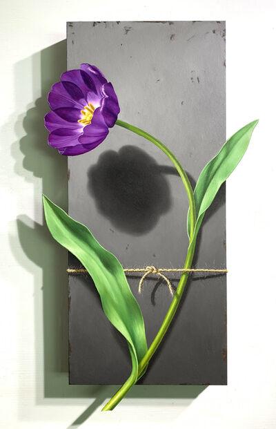 Otto Duecker, 'Nature Bound, Purple Tulip', 2020