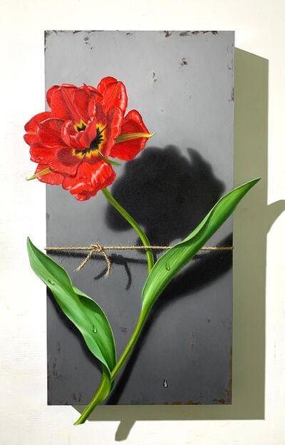 Otto Duecker, 'Nature Bound, Red Tulip', 2020