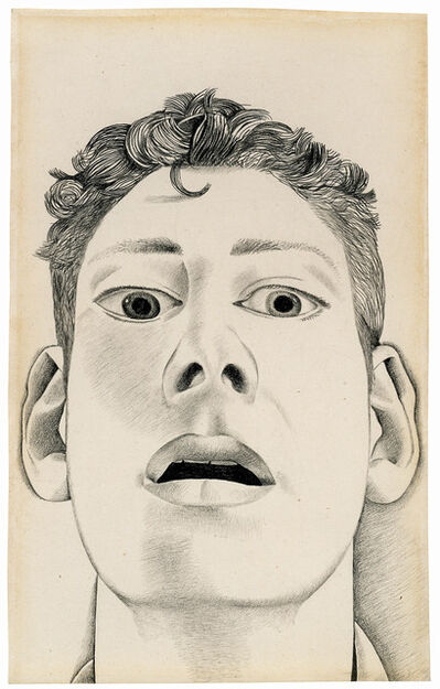 Lucian Freud, 'Startled Man: Self-Portrait', 1948