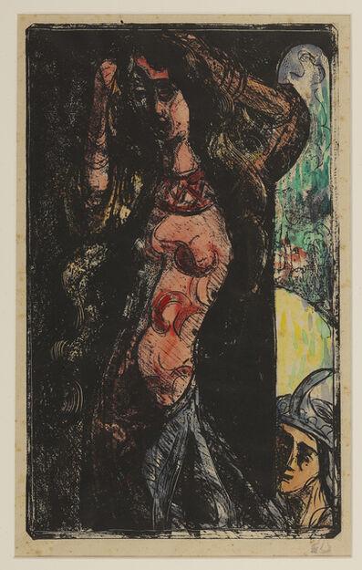 Émile Bernard, 'The Countess combs her hair', 1891-1892
