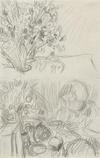 """Pierre Bonnard, 'Two Studies for """"Le Petit Déjeuner""""'"""
