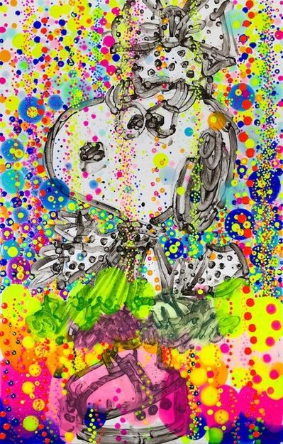Tom Everhart, 'Uptown Art Lady ', 2017