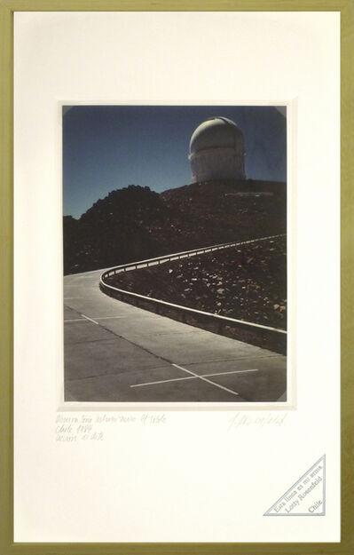 Lotty Rosenfeld, 'El Tololo. Observatorio Astronómico / El Tololo. Astronomical Observatory', 1984