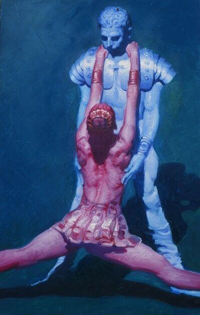 John Asaro, 'Crassus - Aegina - Double Hand Caress', 2020