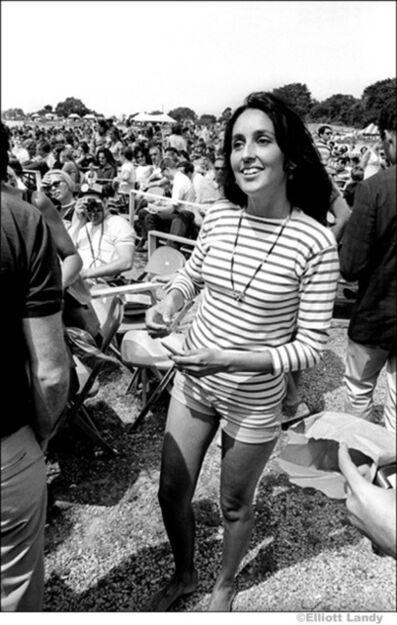 Elliott Landy, 'Joan Baez, Newport Folk Festival', 1968