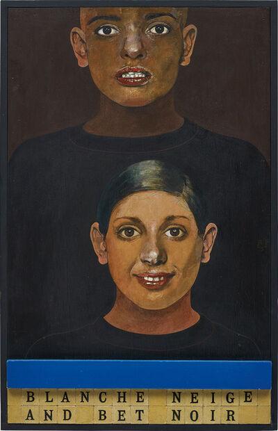 Peter Blake, 'Blanche Neige et Bet Noir', 1976-1981