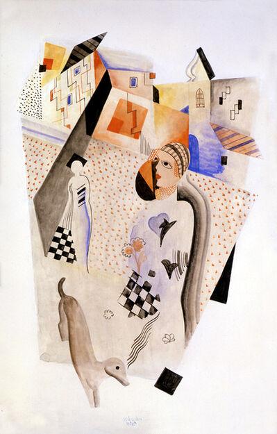 Bela Kadar, 'Composition Two', ca. 1925