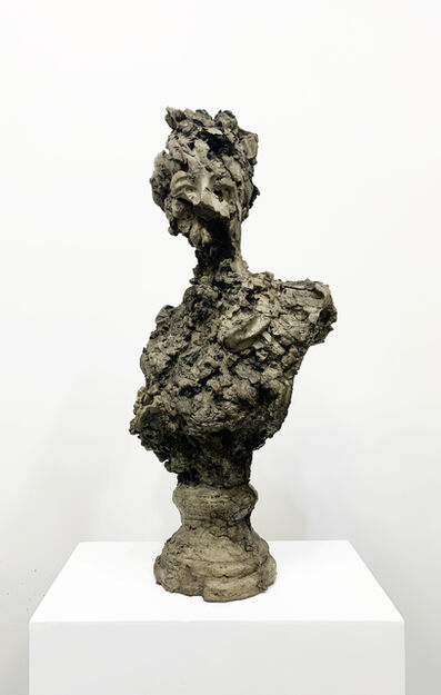 Blake Hiltunen, 'Bust of a Woman As A Cave #5', 2020