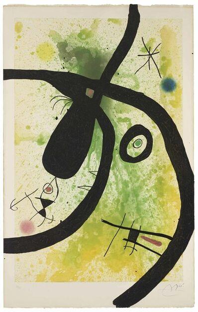 Joan Miró, 'Le Chasseur de Pieuvres', 1969