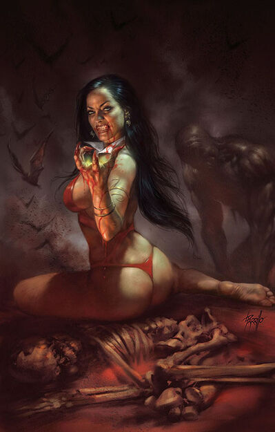 Lucio Parrillo, 'Vengeance of Vampirella Vol. 2, #1', 2018