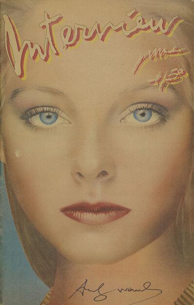 Andy Warhol, 'Interview, Jodie Foster', 1980