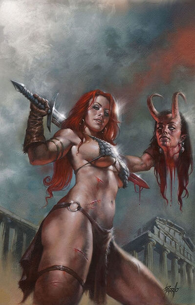 Lucio Parrillo, 'Red Sonja', 2019