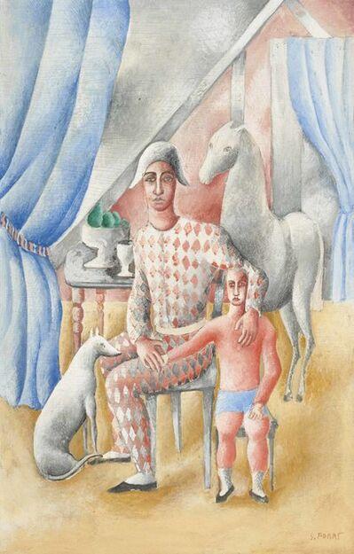 Serge Férat, 'Arlequin et enfant', 1924-1926