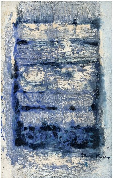 Théo Kerg, 'Ecrit sur le Silence ', 1962