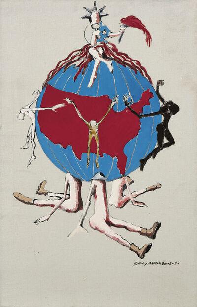 Benny Andrews, 'Liberty (Study #2 for Trash)', 1971