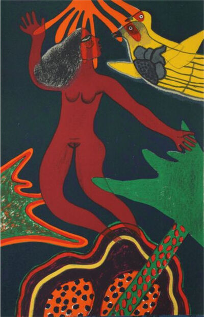 Guillaume Corneille, ' Femme volante', 1985