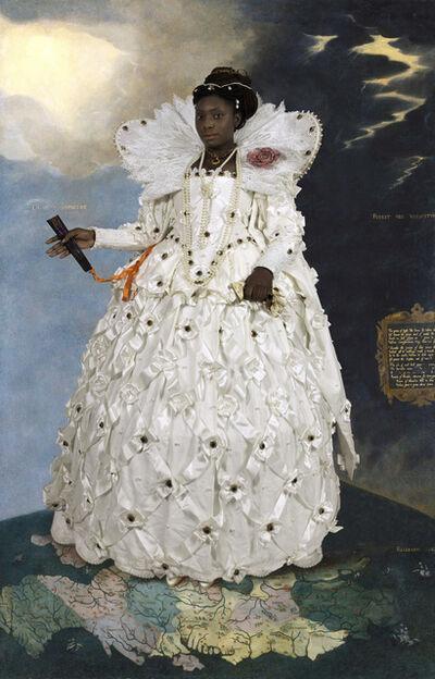 E2 - KLEINVELD & JULIEN, 'Ode to Gheeraerts' Portrait of Elizabeth I', 2014