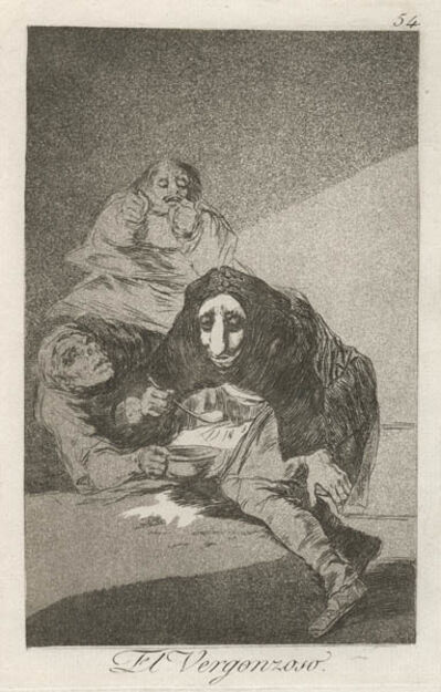 Francisco de Goya, 'El Vergonzoso', ca. 1799