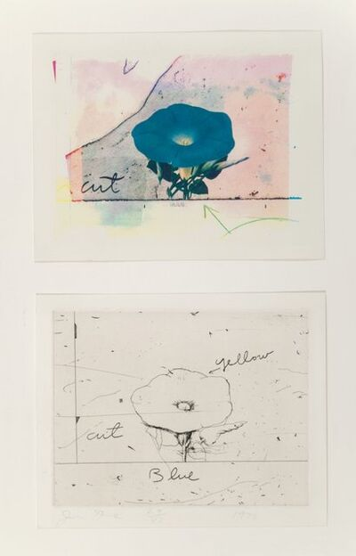 Jim Dine, 'Morning Glory, set of two', 1972