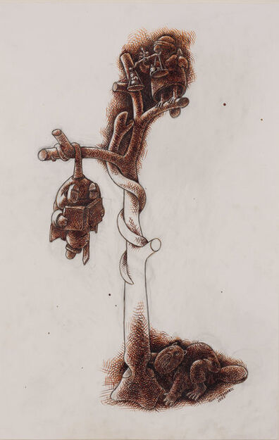 Tom Otterness, '(Untitled) Tree of Knowledge', 1997