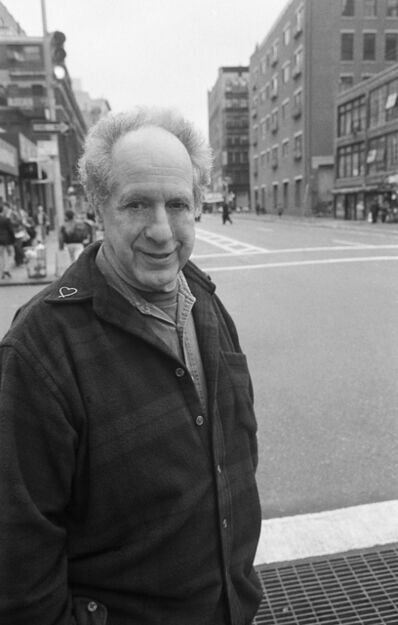 Thomas Clark, 'ROBERT FRANK ON BLEECKER STREET', 1996