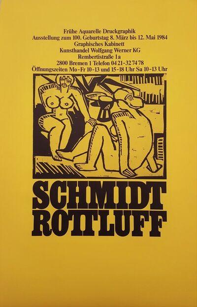 Karl Schmidt-Rottluff, 'Schmidt-Rottluff at Kunsthandel Wolfgang Werner KG', 1984