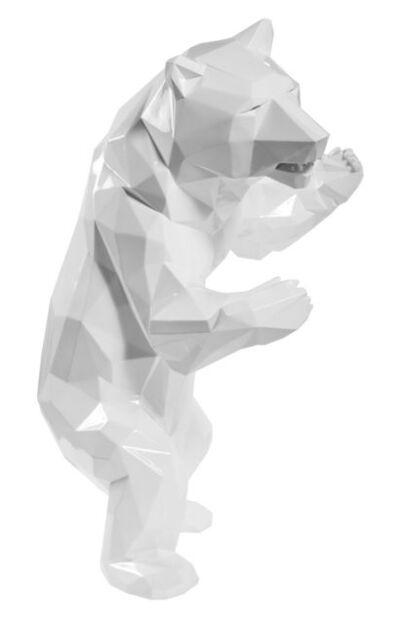 Richard Orlinski, 'Standing Bear White (Ours Blanc)', 2017