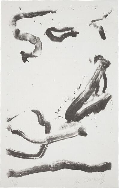 Willem de Kooning, 'Love to Wakako', 1971