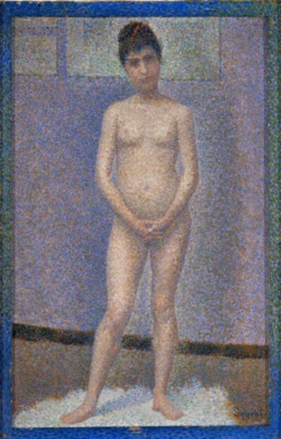 Georges Seurat, 'Poseuse de face (Model, Front View)', 1887