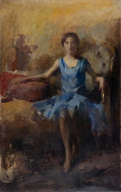 Romualdo Locatelli, 'Ritratto di Ballerina', 1928