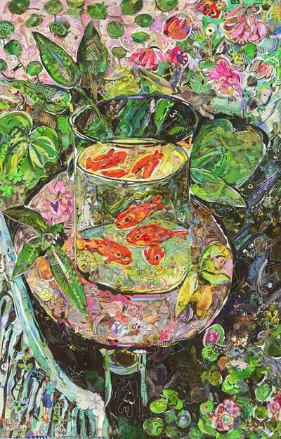 Vik Muniz, 'The Goldfish, after Matisse', 2016