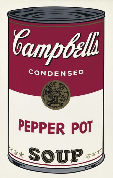 Andy Warhol, 'Pepper Pot, from Campbell's Soup I', 1968