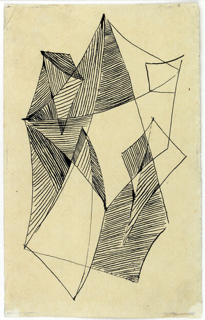 Liubov Popova, 'Untitled', ca. 1918