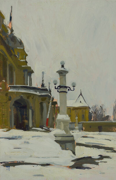 Marc Dalessio, 'HNK Steps in the Snow', 2015