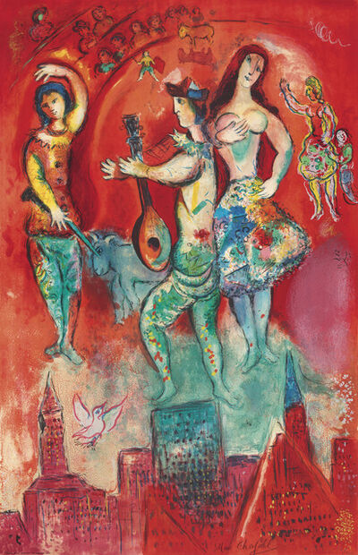 Charles Sorlier after Marc Chagall, 'Carmen', 1967