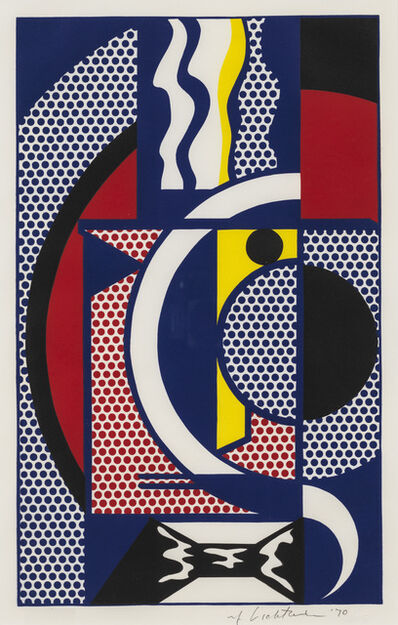 Roy Lichtenstein, 'Modern Head #1', 1970