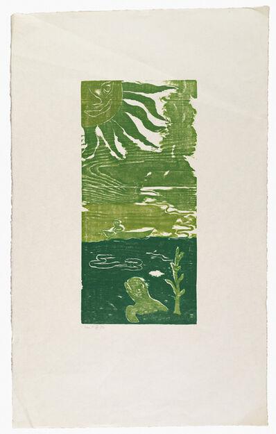 Ken Kiff, 'Green Sea and Sky', 1996