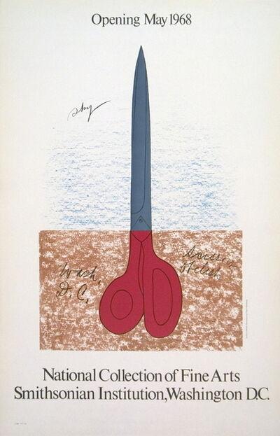Claes Oldenburg, 'Scissors as Monument', 1968