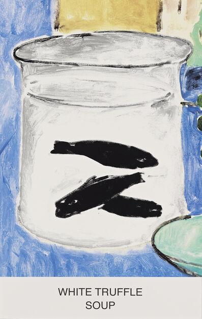 John Baldessari, 'Eight Soups: White Truffle Soup', 2012