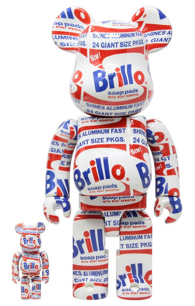 BE@RBRICK, 'Andy Warhol Be@rbrick 400% (Warhol Brillo Be@rbrick)', 2020