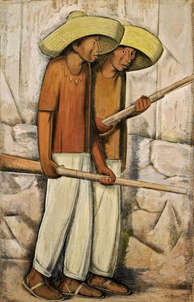 Alfredo Ramos Martínez, 'Rurales', ca. 1935