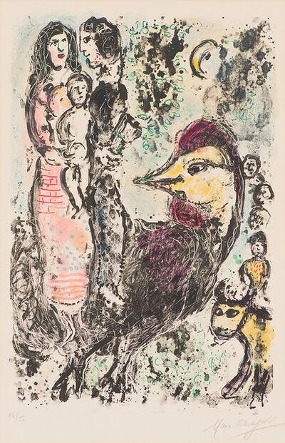 Marc Chagall, 'La Famille au Coq (M. 567)', 1969