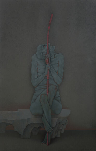 Shao Fan, 'Arhat Holding a Cane', 2016