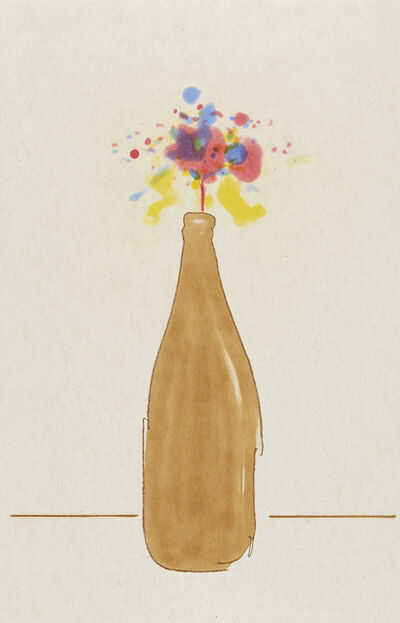 Tom Marioni, 'Beer Bottle Bouquet', 2017