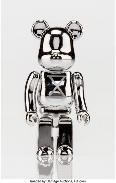 BE@RBRICK X Staple Design, 'Silver Be@rbrick 100%', c. 2007