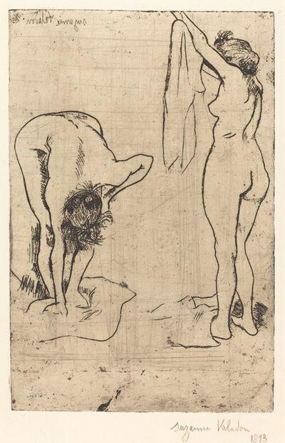Suzanne Valadon, 'Femmes au bain', 1893