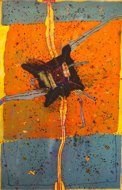 Burt Hasen, 'Green Fluctuation', 1989