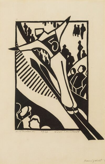 Lill Tschudi, 'Hors Concours (Coppel LT 16)', 1931